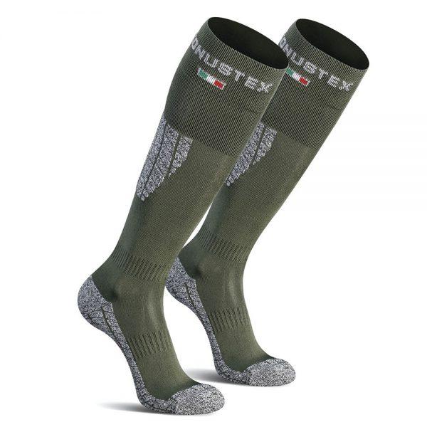 calcetines verdes técnicos