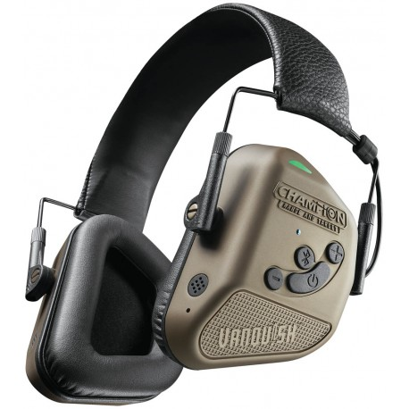 Cascos electrónicos con Bluetooth Champion Vanquish Pro Elite - marrones