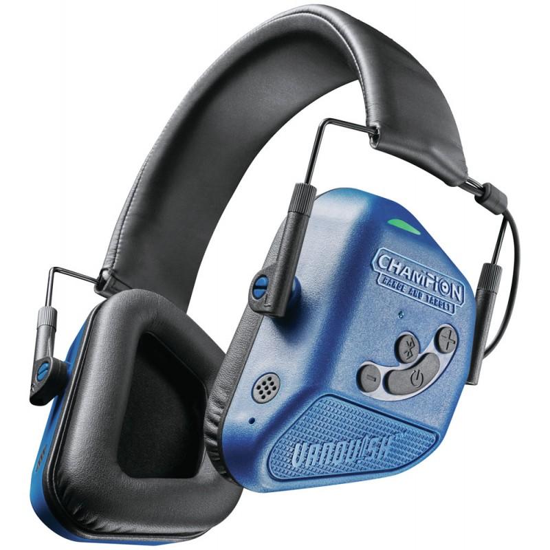 Cascos electrónicos con Bluetooth Champion Vanquish Pro - azules