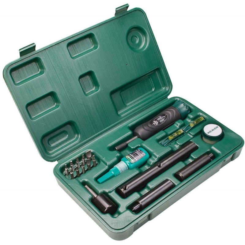 Kit de herramientas para montaje de visores Weaver Deluxe
